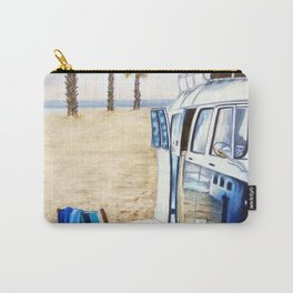HOLIDAY AT THE BEACH Carry-All Pouch
