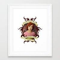 buffy the vampire slayer Framed Art Prints featuring Willow - Buffy the Vampire Slayer by muin+staers