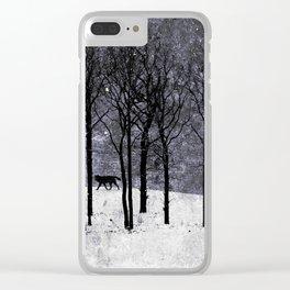Wolfen Clear iPhone Case