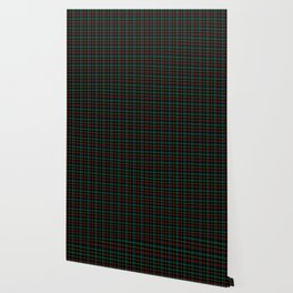 Red and green plaid Wallpaper