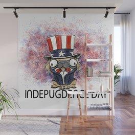 Indepugdence Day Wall Mural