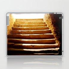 Steps to tomb Laptop & iPad Skin