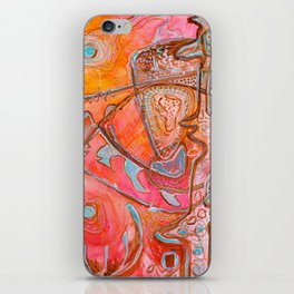 Something Jurassic In Pink iPhone Skin