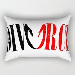 Divorce Rectangular Pillow