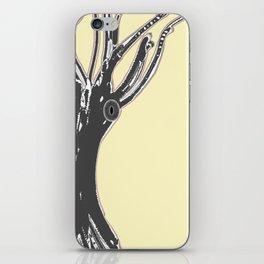 unblinking tree iPhone Skin
