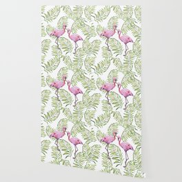 Flamingo  #society6 #buyart Wallpaper