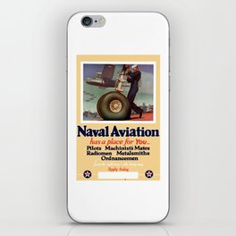 Naval Aviation Has A Place For You iPhone Skin