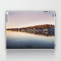 Dawn at the lake Laptop & iPad Skin