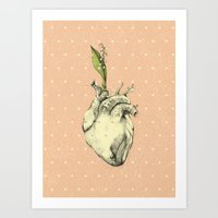 Art Print featuring One more chance by Podessto