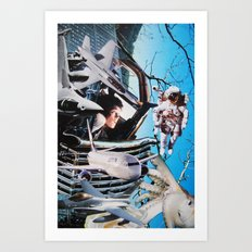 Alien 5 Art Print