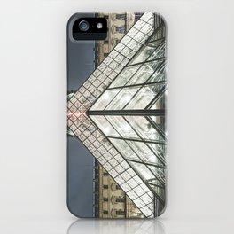 Paris pyramide Louvre 2 iPhone Case