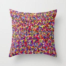 Cuz it's hot Pop Graffiti Throw Pillow