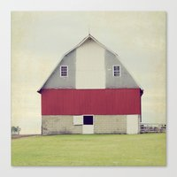american beauty Canvas Prints featuring American Beauty Vol 17 by Farmhouse Chic