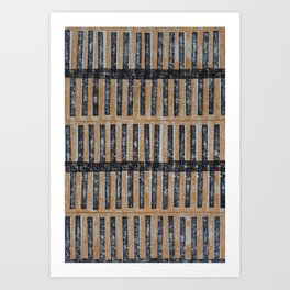 AFRO TEXTURE Art Print
