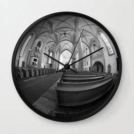 St. Mary's Church St. Mary's parish church in Torgau BW Marienkirche Wall Clock
