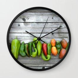 Pepper Works Wall Clock