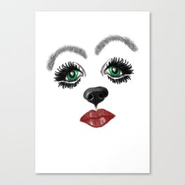Did you say Snout? Canvas Print