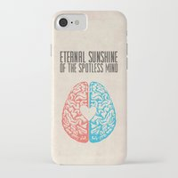 eternal sunshine of the spotless mind iPhone & iPod Cases featuring Eternal Sunshine of the Spotless Mind - Alternative Movie Poster by Anthony DeCarolis