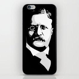 Teddy Roosevelt iPhone Skin