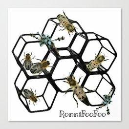 Honey FooFoo Canvas Print