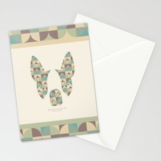 Boston Terrier: Circles. Stationery Cards