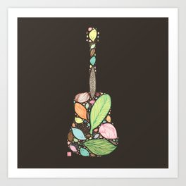 Let your Guitar Sing B-Side Art Print
