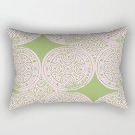 notting hill: olive & ballet pink Rectangular Pillow