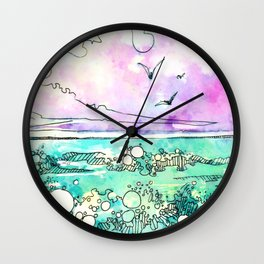 Sea The Beauty Wall Clock