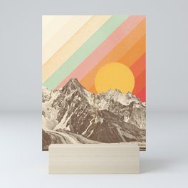 Mountainscape 1 Mini Art Print