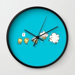 Microwavolution  Wall Clock