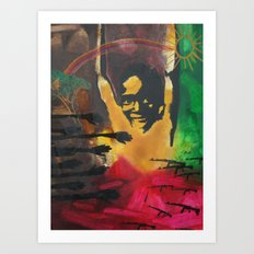 the fierce urgency of now, 1 Art Print