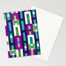 Grid Pretty Stationery Cards