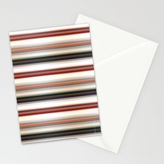 Horizontal Lines Stationery Cards