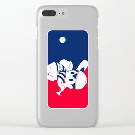 Eagleland Baseball Team Clear iPhone Case