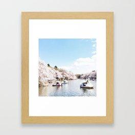 Inokashira Framed Art Print