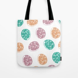 Conchas Pattern Tote Bag