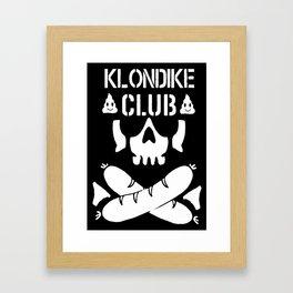 Klondike Club Framed Art Print
