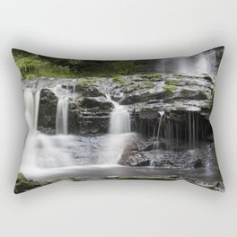 Blaen-y-glyn Waterfall 2 Rectangular Pillow