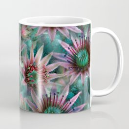 Succulents Flower Garden Coffee Mug
