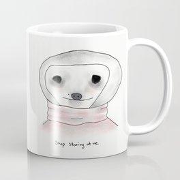 self-conscious sloth Coffee Mug