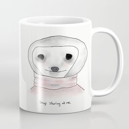 self-conscious sloth Coffee Mug