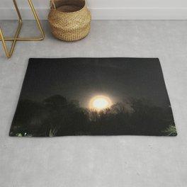 Lunar Eclipse 2017 Atlanta Georgia Rug