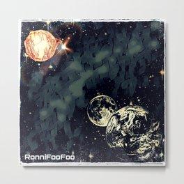 Total Solar Foo'clipse Metal Print