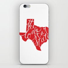 The Lone Star State - Texas iPhone & iPod Skin