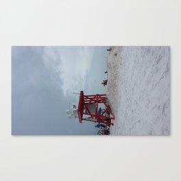 Beach Lifeguard Station Canvas Print