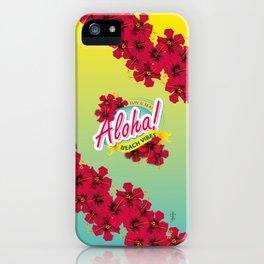 Aloha Beach Vibes I iPhone Case