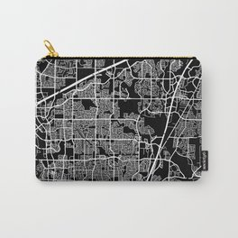 plano map texas Carry-All Pouch