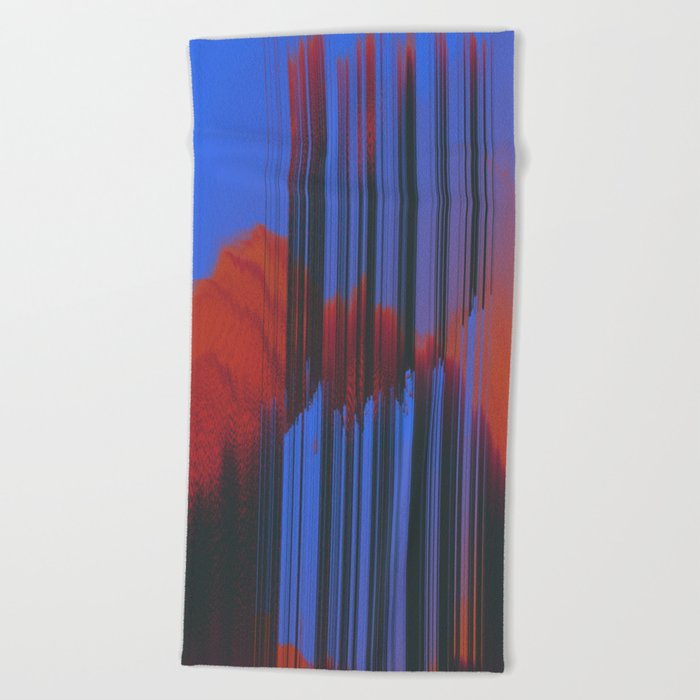 Sunset Melodic Beach Towel