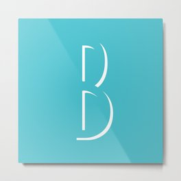 The Letter B Metal Print