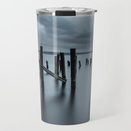 Pier of the Past Travel Mug